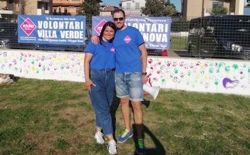 Claudia Mancini e Simone Preziosi