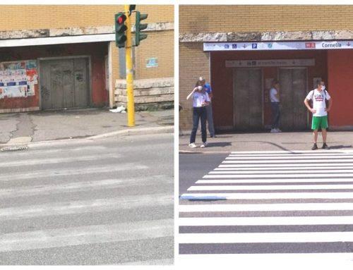 La riqualificazione di Retake Roma e Atac alla Stazione Cornelia (FOTO)